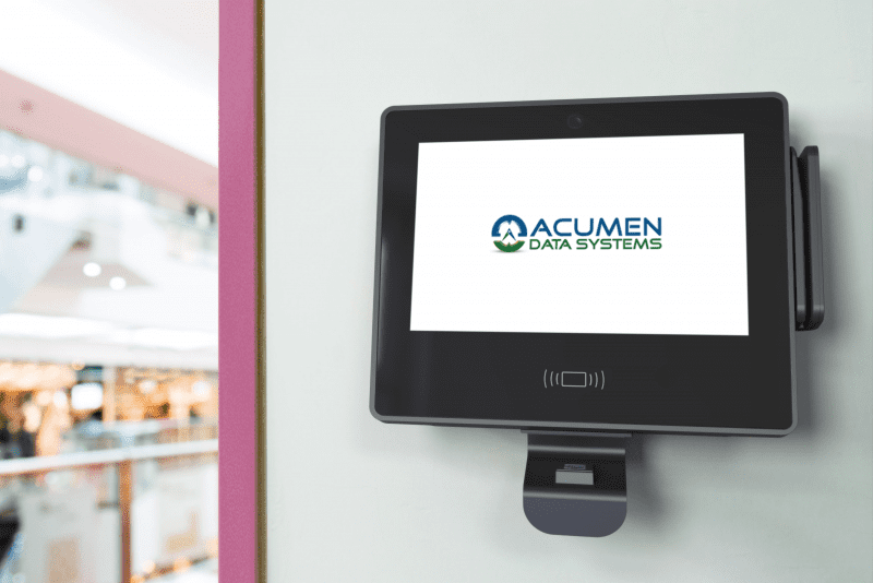 The Acumen GT650 time clock supports face recognition, biometric fingerprint scanning, ID card swiping, and traditional PIN entry.